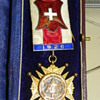 Gold Masonic medal for services rendered as NA