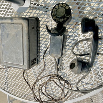 1937 Western Electric G1 space saver telephone