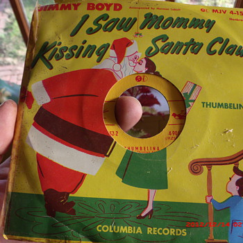 Some Christmas 45's from my collection   - Records