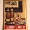 Sunshine Beer Tin Sign