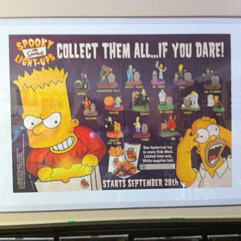 Burger King Simpsons promo - Advertising