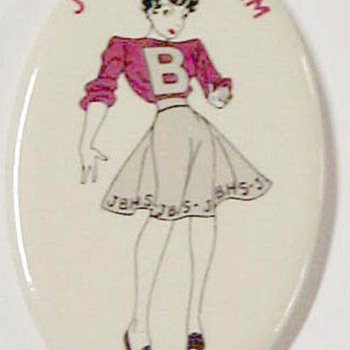 Philadelphia High School Comic Character Pinback - Medals Pins and Badges