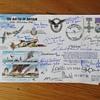 Battle of Britain pilots signatures.