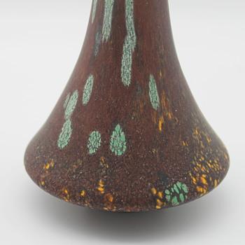 Hisatoshi Iwata artisan vase  - Art Glass
