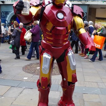 IRON MAN DRINKS NEWCASTLE'S GINGER BEER - Bottles