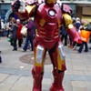 IRON MAN DRINKS NEWCASTLE'S GINGER BEER