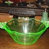 Cambridge #3400 Green Bowl