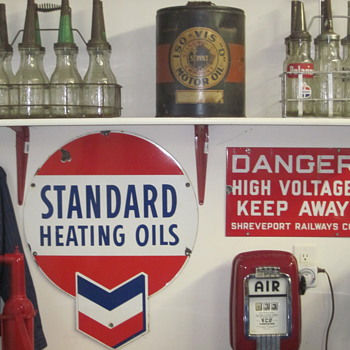Oil Bottles and Fuel Cans - Petroliana