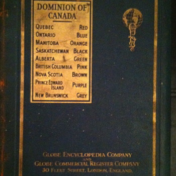 Globe encyclopedia company book. - Books