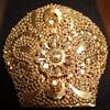 14K gold brooch made from an originally so called: Oorijzer