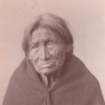 Sioux Indian cabinet card - Photographs