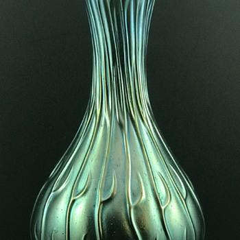 Loetz Creta Neptun Silberiris Vase, ca. 1903 - Art Glass