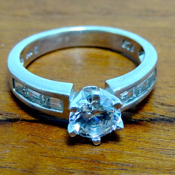 Cubic Zirconia & Sterling Silver Ring