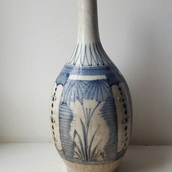 Antique Asian bottle/vase. - Asian