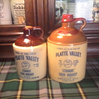 McCormick, s Platte Valley jugs - Bottles