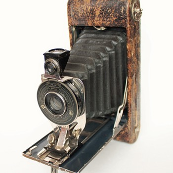 Agfa Ansco No.1a Readyset Royal Cameras (Silver Fox) and (Ostrich Skin)