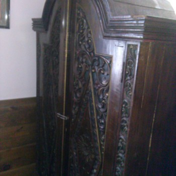 Old Armoire - Furniture