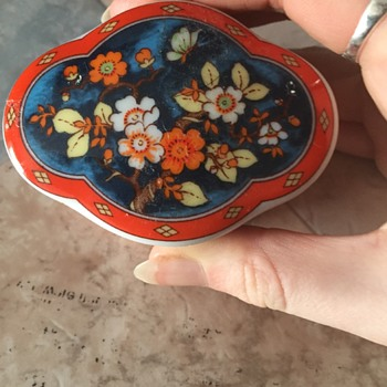 Tiny Porcelain Box - Furniture