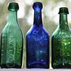 <----Old Pontiled Soda Bottles---->