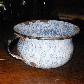 Graniteware Chamber Pot Child Size - Kitchen