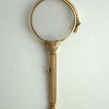 art deco lorgnon eyglasses - Accessories