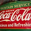Tennessee Enamel 1935 Vintage Coke Sign