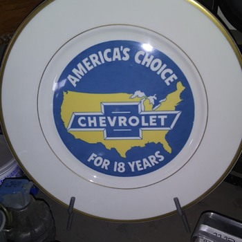 1929 Chevrolet plate - Classic Cars