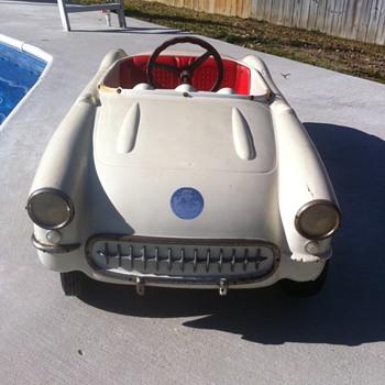 1956 Eska Corvette Pedal Car - Model Cars