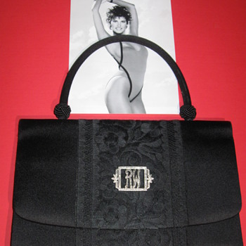 Raquel Welch . . . Silk and Lace Purse - Bags
