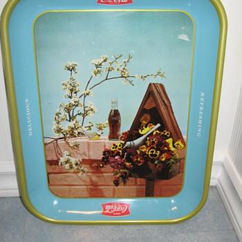 Coca Cole Birdhouse Tray - Coca-Cola