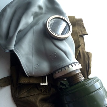 Old Soviet GP-5 Gas MAsk - Military and Wartime