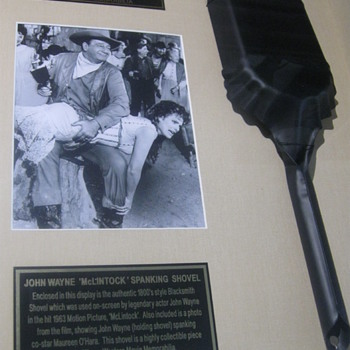John Wayne 'Spanking Shovel' . . . McLintock! - Movies