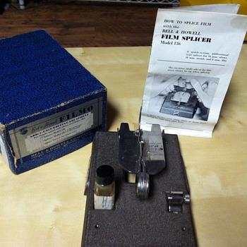 Bell & Howell Filmo 'Add-a-unit' Splicer, Model 136 - Cameras