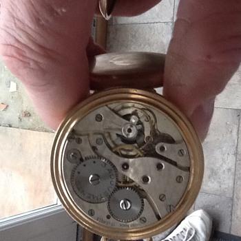 Swiss made eclipse pocket watch