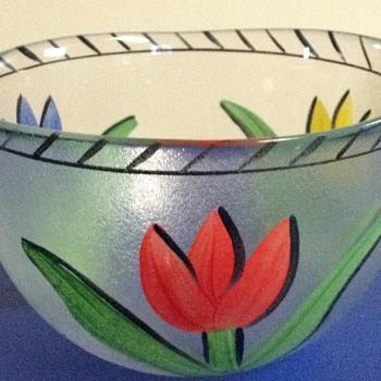 Ulrica  Vallien bowl - Art Glass