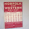 Norflok and Western Calendar
