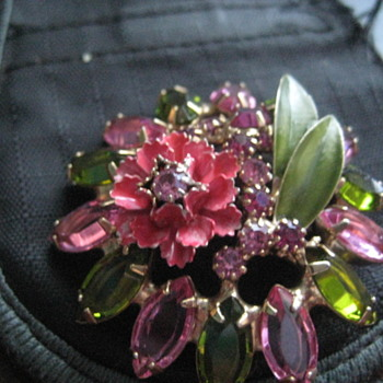 New Brooch today - Costume Jewelry