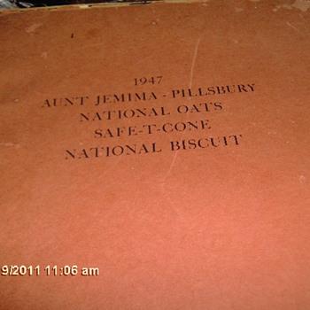 1947 Aunt Jemima Pillsbury National Oats Safe T Cone National Biscuit Comic  Newspaper