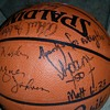 Possible movie prop signed nba basketball forget paris Barkley,Miller, Jabbar +++
