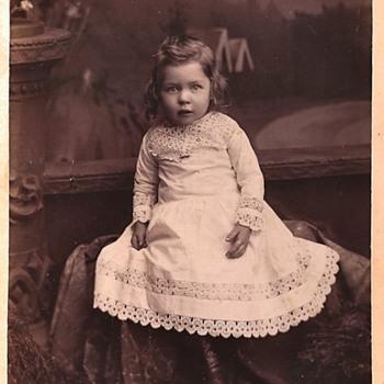Vintage Cabinet Card Photos - Children - Photographs