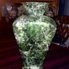 Spanish glass vase