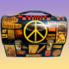 1967 Lunch Box Purse with Decoupage crafted by a volunteer for a NJ drug center