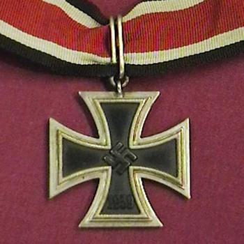 WW II Iron Cross 2nd Class  Conversion to Knights Cross
