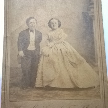 Mr. and Mrs General Tom Thumb