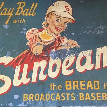 Unique Sunbeam Bread Sign - Signs