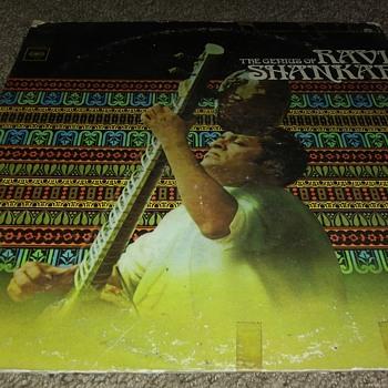 Ravi Shankar...On 33 1/3 RPM Vinyl - Records