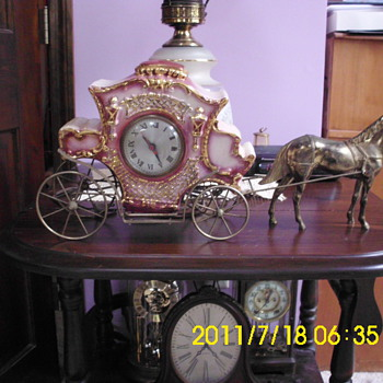 Sessions Horse & Carriage clock - Clocks