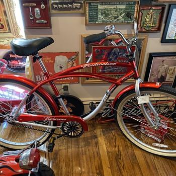 Budweiser Bicycle - Breweriana