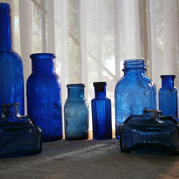 Light and Color - Bottles