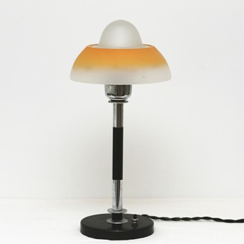 Art Deco Lamp, Fog & Moerup (Denmark), 1930's